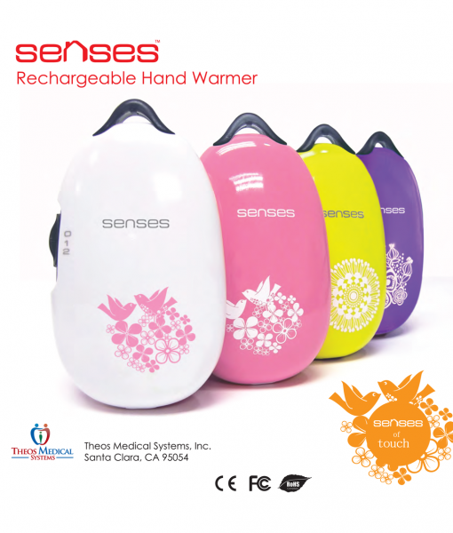 Senses Hand Warmer Colors