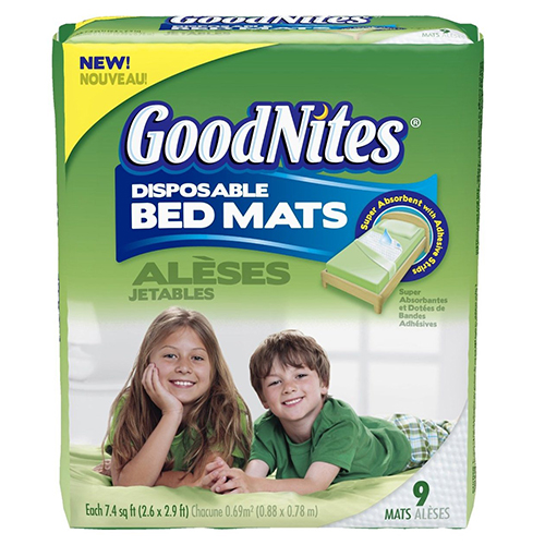 Huggies Goodnites Disposable Bed Mats, 36 Count