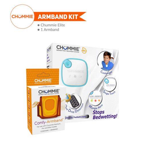 Chummie Elite Bedwetting Alarm Armband Kit - Blue