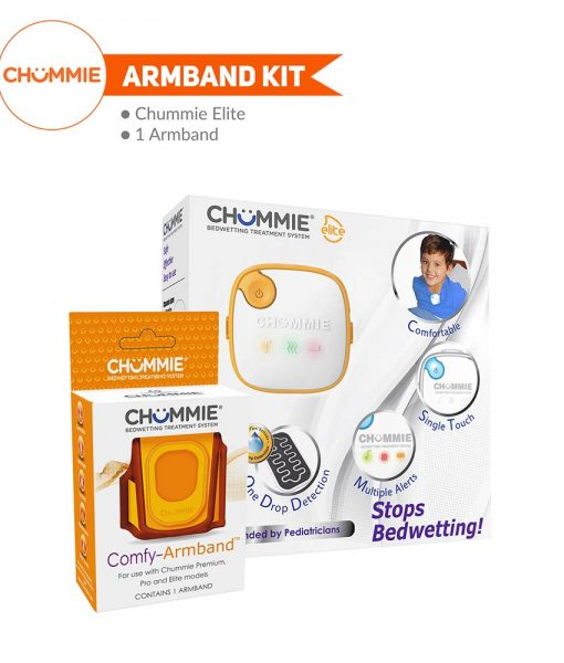 Chummie Elite Bedwetting Alarm Armband Kit - Orange