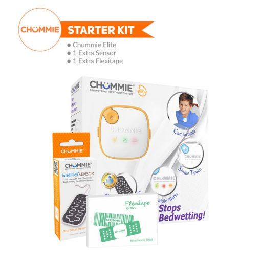 Chummie Elite Bedwetting Alarm Starter Kit - Orange
