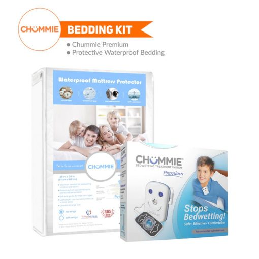 Chummie Premium Bedwetting Alarm Bedding Kit - Blue with No Wings