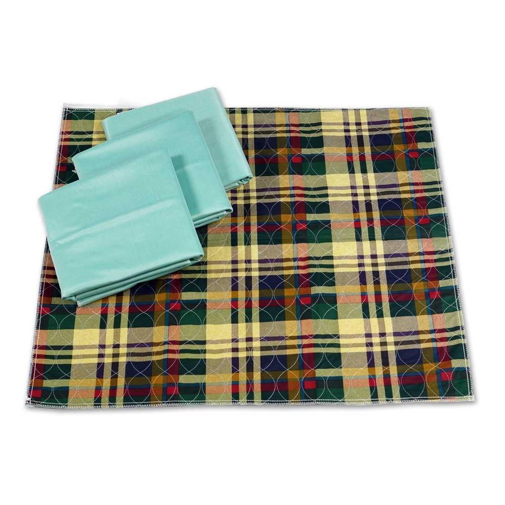 Chummie Checkered Waterproof Bedding - Chummie Store