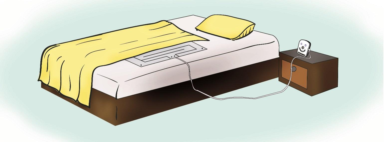 Bed Pro Alarm Under Mattress Sensor Pad